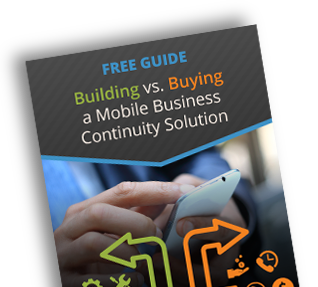 Build vs Buy Business Continuity Software