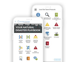 Natural Disaster Playbook