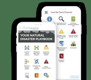 Natural Disaster Playbook