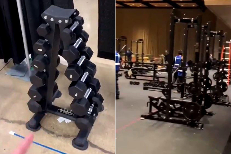 Oregon-Sedona-Prince-NCAA-mens-womens-weight-room