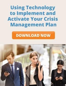 activate your crisis management plan