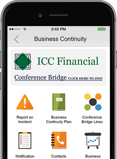 Business Continuity App