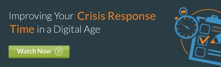 Improving Your Crisis Response Time in a Digital Age