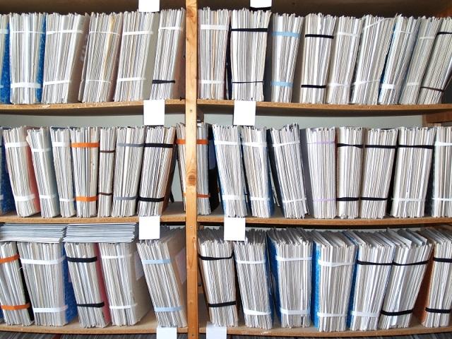 Stacked Bookshelf
