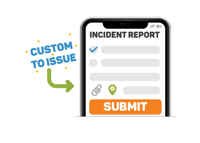 CREATE CUSTOM INCIDENT FORMS BY TOPIC